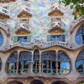 Spanien Barcelona Casa Batllo