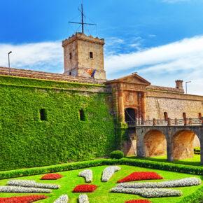 Spanien Barcelona Castillo de Montjuic