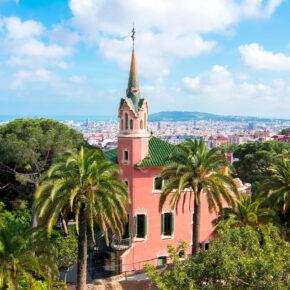 Spanien Barcelona Park Guell