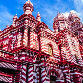 Sri Lanka Colombo Jami ul Alfar Moschee