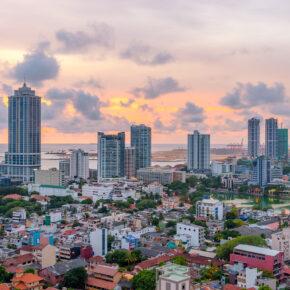 Sri Lanka Colomo Skyline