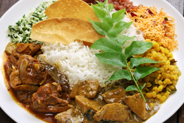 Sri Lanka Essen Curry