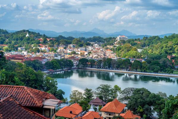 Sri Lanka Kandy Aussicht