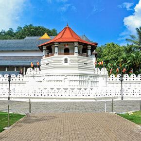 Sri Lanka Kandy Zahntempel