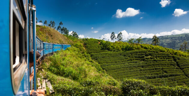 Sri Lanka Kandy Zugfahrt