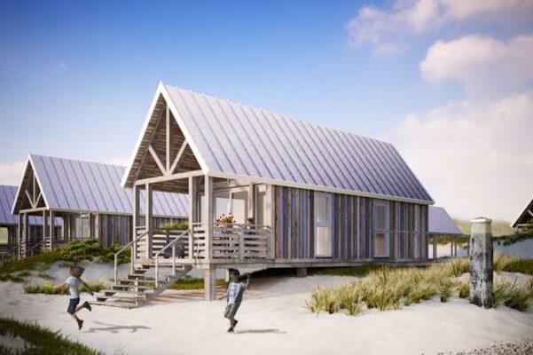 Strandhaus Nieuwvliet Bad Außen
