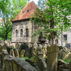 Tschechien Prag Juedischer Friedhof