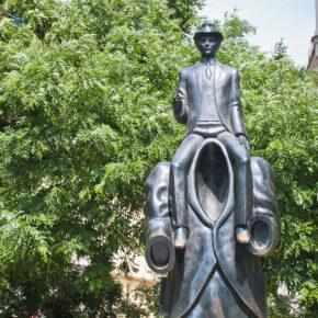 Tschechien Prag Kafka Statue
