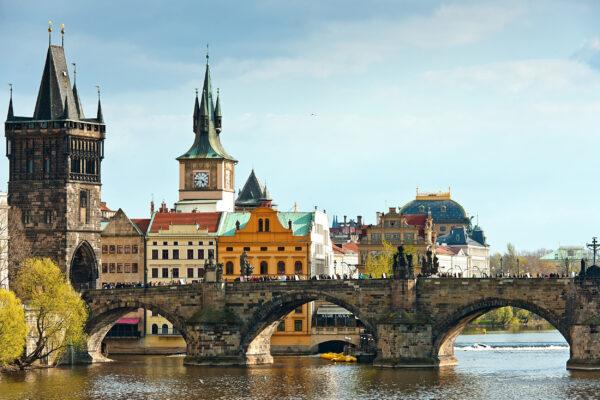 Tschechien Prag Karlsbruecke
