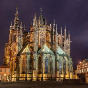 Tschechien Prag St. Vitus Kathedrale