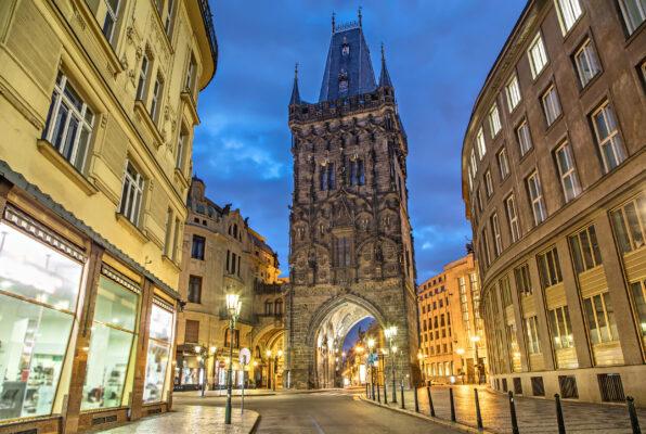 Tschechien Prag Turm