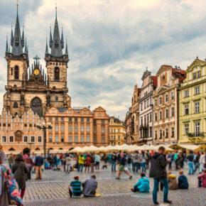 Tschechien Prag Wenzelsplatz