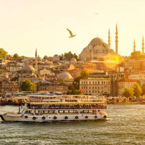 Türkei Istanbul Golden Horn