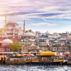 Wochenende Istanbul: 3 Tage in der Metropole im TOP 5* Hotel mit Flug nur 187€