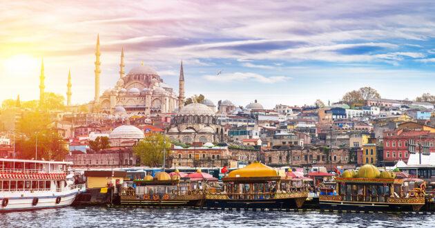 Türkei Istanbul Panorama