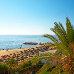 Tunesien Single Reise im Juni & Oktober: 7 Tage im 4* Hotel mit AI, Flug, Transfer & Zug nur 439€
