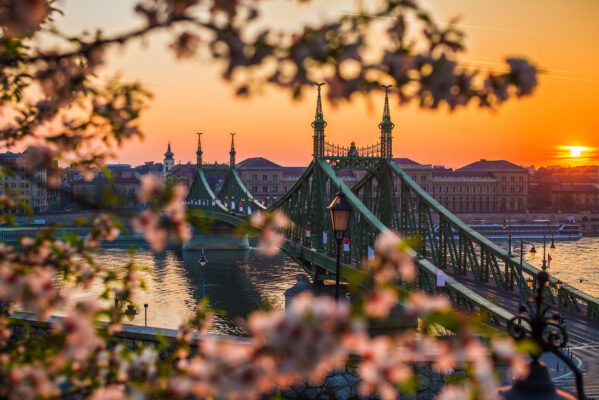 Ungarn Budapest Liberty Bridge