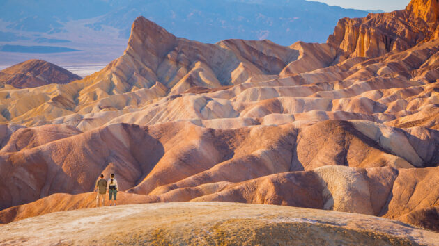 USA Death Valley Ausblick