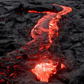 USA Hawaii Nationalpark Lava
