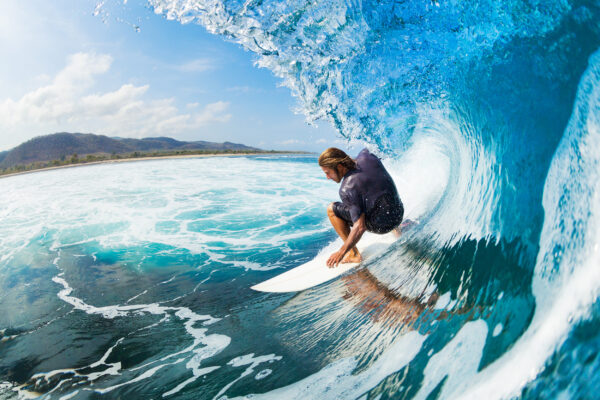 USA Hawaii Surfer Welle