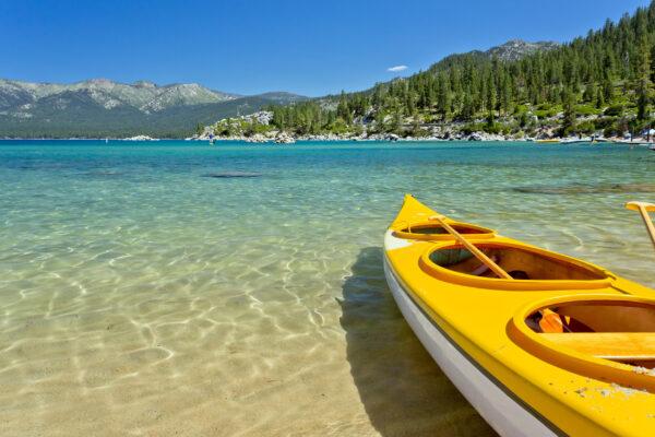 USA Lake Tahoe Kajak