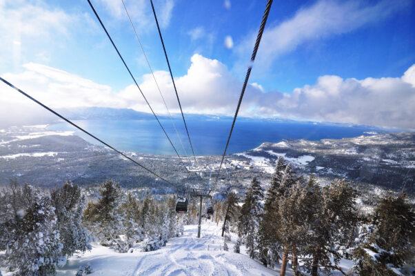 USA Lake Tahoe Winter