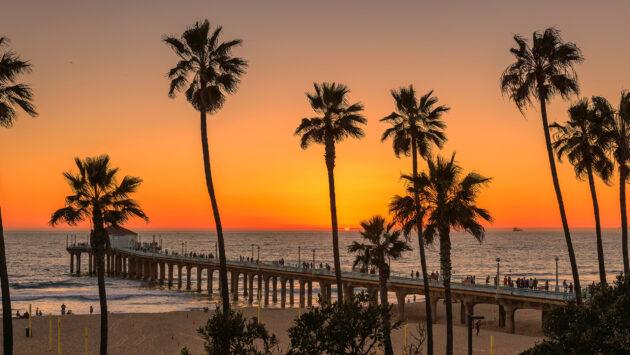 USA Los Angeles Manhattan Beach