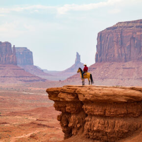 USA Monument Valley Reiter