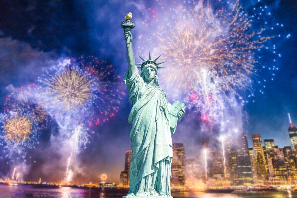 USA New York Freiheitsstatue Manhattan