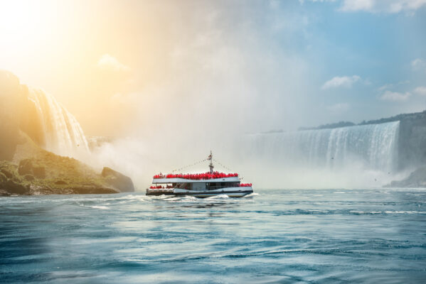 USA Niagarafälle Boot