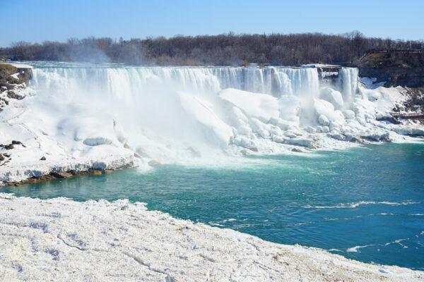 USA Niagarafälle Winter