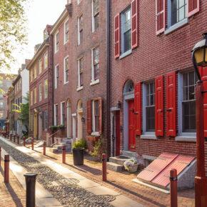 USA Philadelphia Altstadt