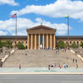 USA Philadelphia Kunstmuseum