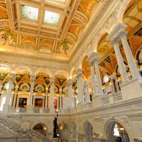 USA Washington DC Library of Congress