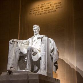 USA Washington DC Lincoln Memorial