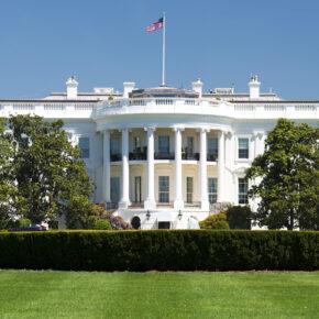 USA Washington DC Weißes Haus