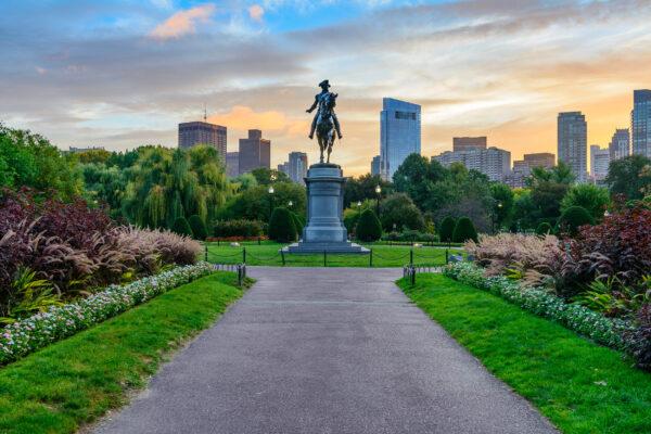 USA Boston Public Garden