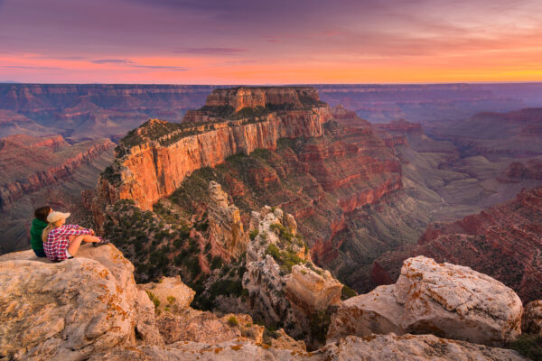 USA Grand Canyon Aussicht