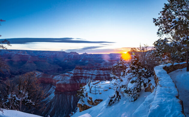 USA Grand Canyon Winter