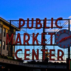USA Seattle Public Market
