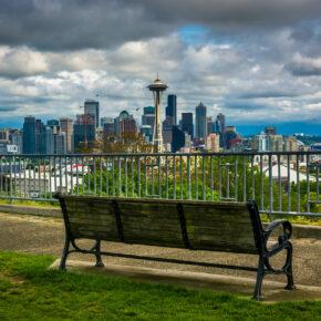 USA Seattle Skyline