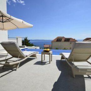 Villa Nina Makarska Terrasse