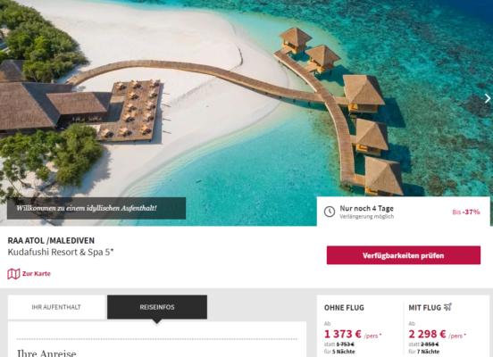 10 Tage Malediven