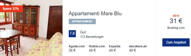 8 Tage Sardinien Hotel
