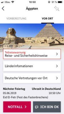 Sicher Reisen App 2