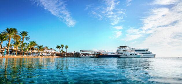 Ägypten Hurghada Meer Schiffe