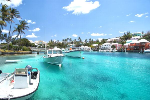 Bermuda Boote Hafen