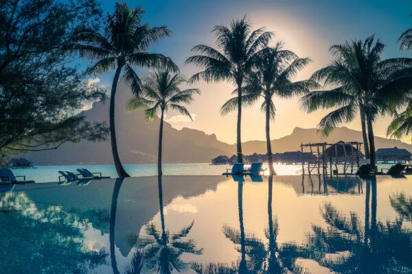 Bora Bora Sonnenuntergang