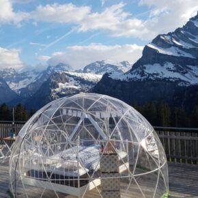 Außergewöhnliches Erlebnis: 2 Tage in Bubble-Suite in der Schweiz mit Frühstück nur 84€