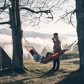 Campen Hängematte Paar